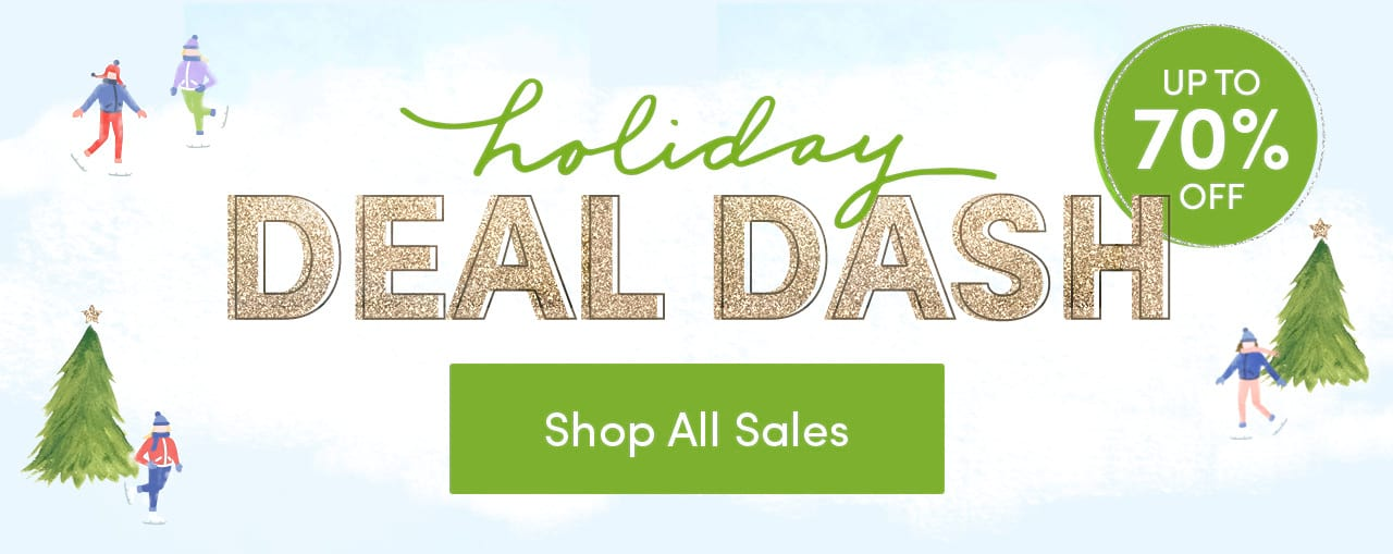 Holiday Deal Dash - Up to 70% OFF - Shop All Sales