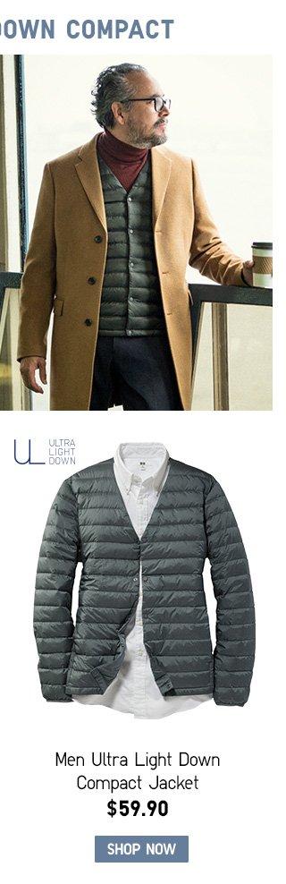 Men Ultra Light Down Compact Jackets SHOP MEN ULTRA LIGHT DOWN COMPACT JACKETS