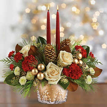 Telefloras Winter Pines Centerpiece