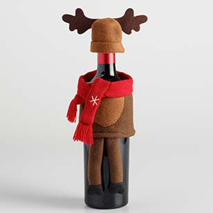 Holiday Moose Bottle Outfit