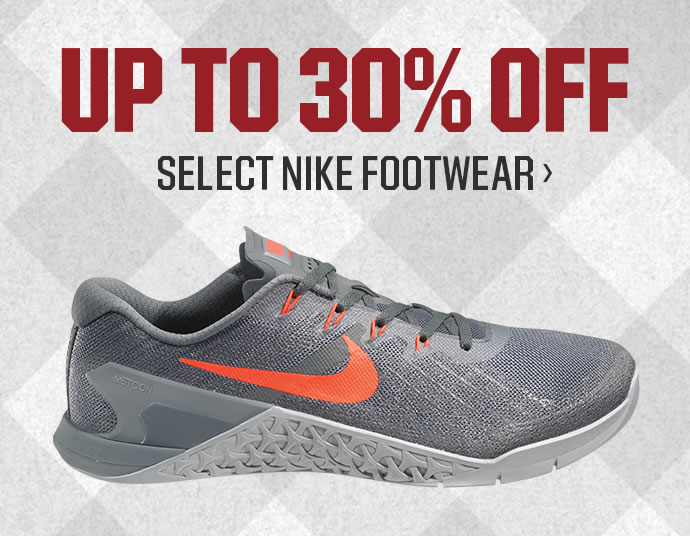 UP TO 30% OFF - Select Nike Footwear | SHOP NOW