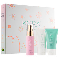KORA Organics - Daily Ritual Kit for Dry Skin