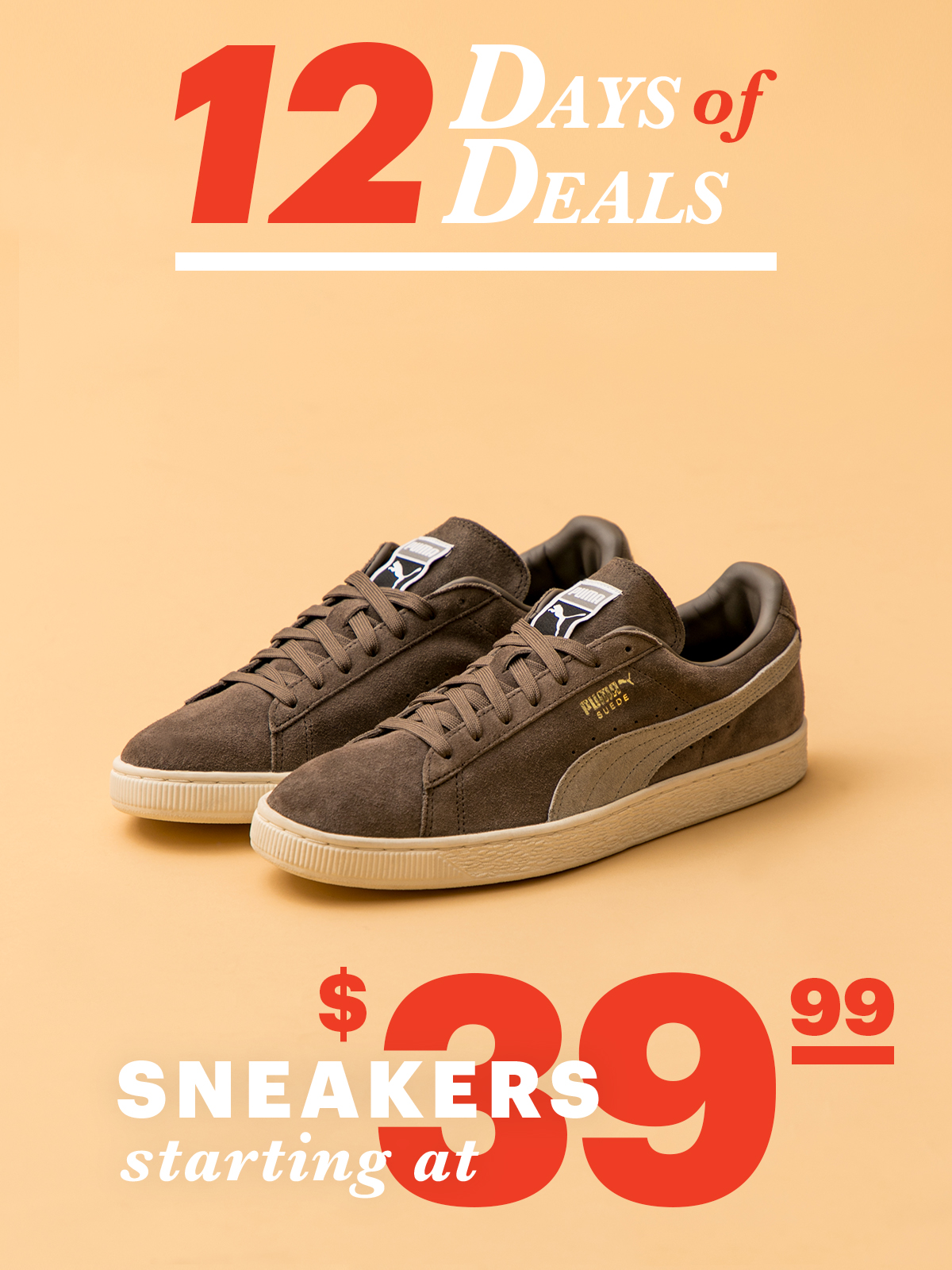 12 Days Of Deals: Day 8 Sneakers Starting at $39.99