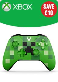 Xbox One Wireless Minecraft Controller Green