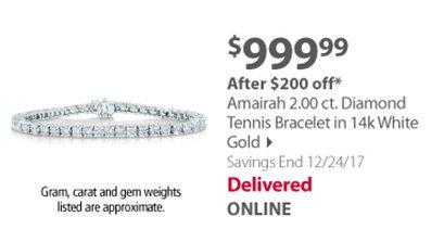 Amairah tennis bracelet