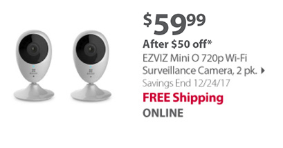 EZVIZ Mini Surveillance Camera