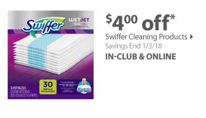 Swiffer Cleaning products