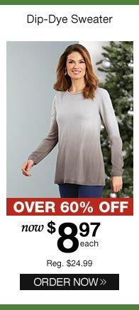 Dip-Dye Sweater
