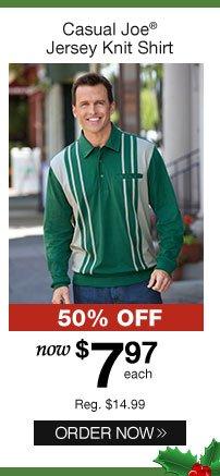 Casual Joe Jersey Knit Shirt