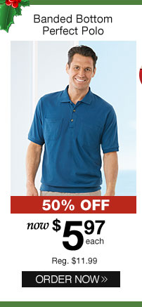 Banded Bottom Perfect Polo