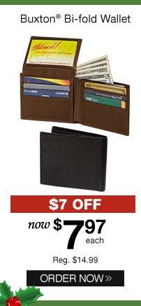 Buxton Bi-fold Wallet