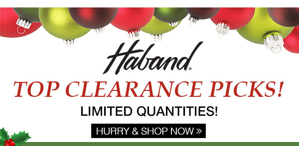 Haband's Top Clearance Picks!