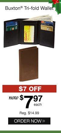 Buxton Tri-fold Wallet