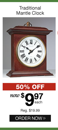 Better Homes and Gardens Traditional Mantle Clocks