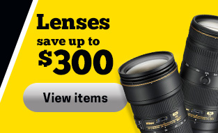 Nikon Lenses Save Up To $200