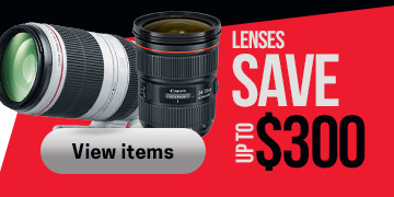 Canon Lenses Save Up To $300