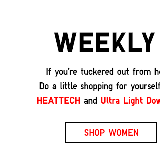 Weekly Promos - SHOP WOMEN