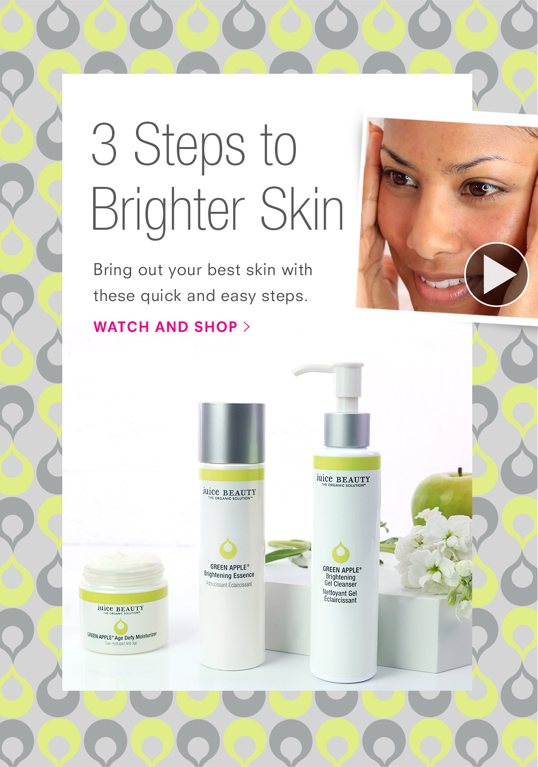 3 Steps to Brighter Skin
