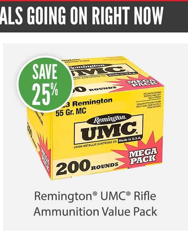 Remington UMC Rifle Ammunition Value Pack