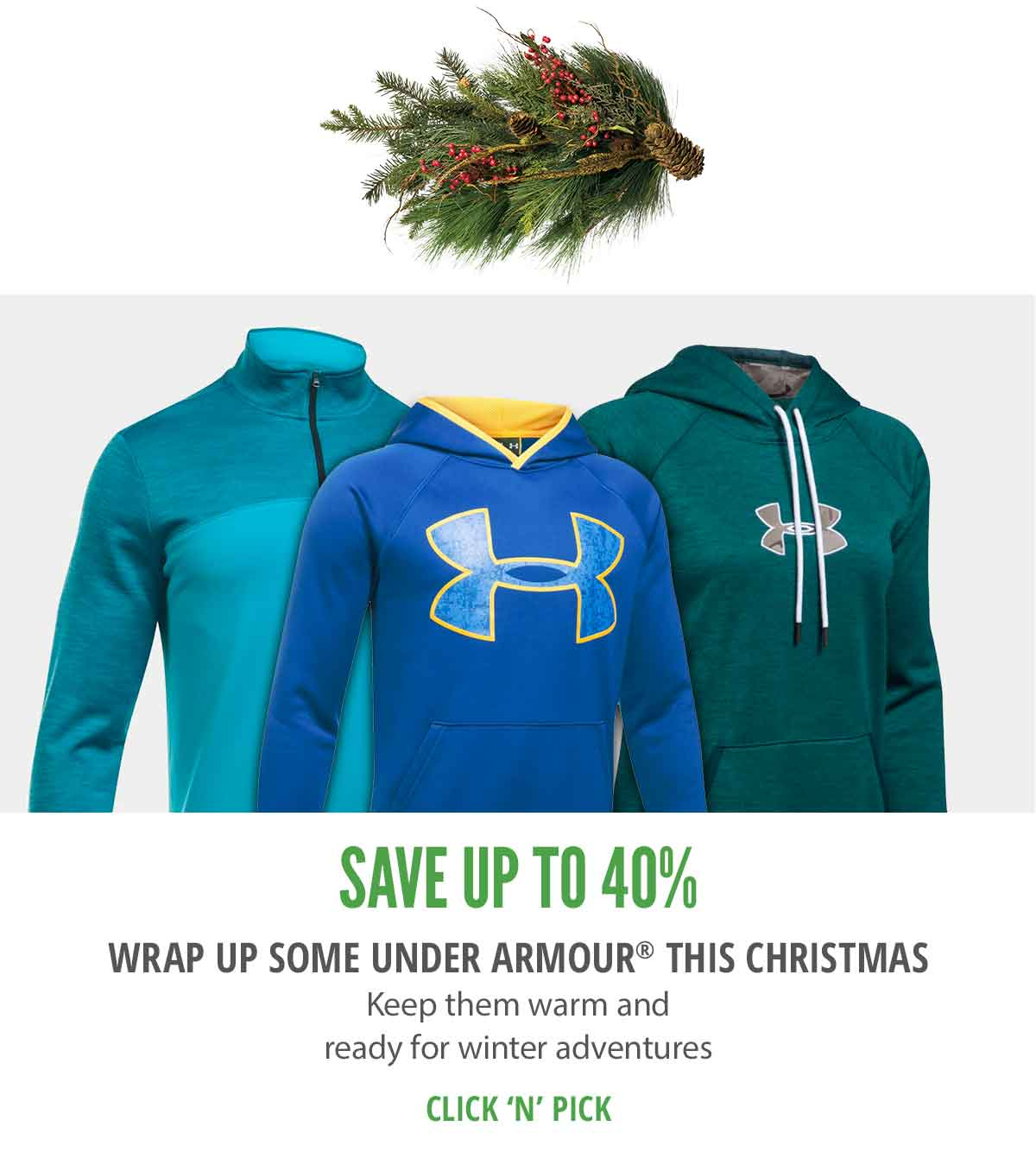 Wrap up some Under Armour this Christmas
