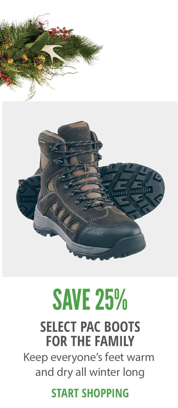 Save on select Pac Boots for the Family