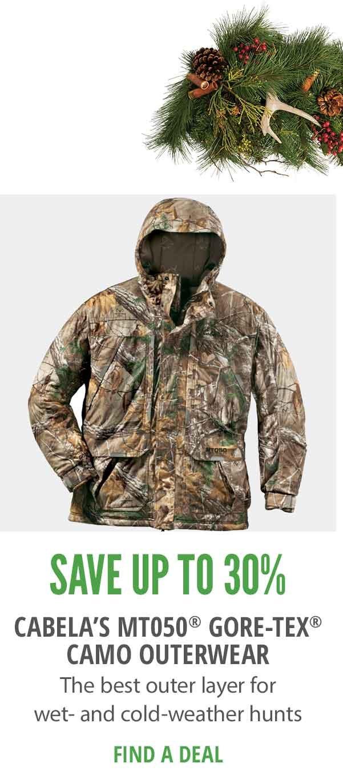 Cabela's MT0t0 Gore-Tex Camo Outerwear