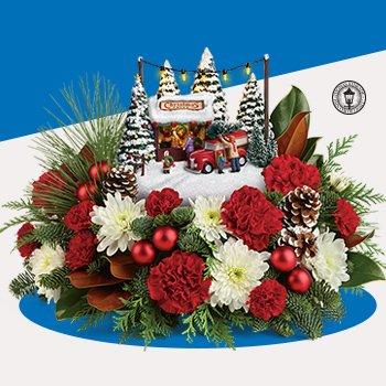 Thomas Kinkades Family Tree Bouquet