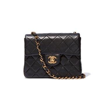 What Goes Around Comes Around Mini Black Chanel Handbag $2,850