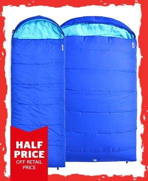 Hi Gear Divine Single / Double Sleeping Bag