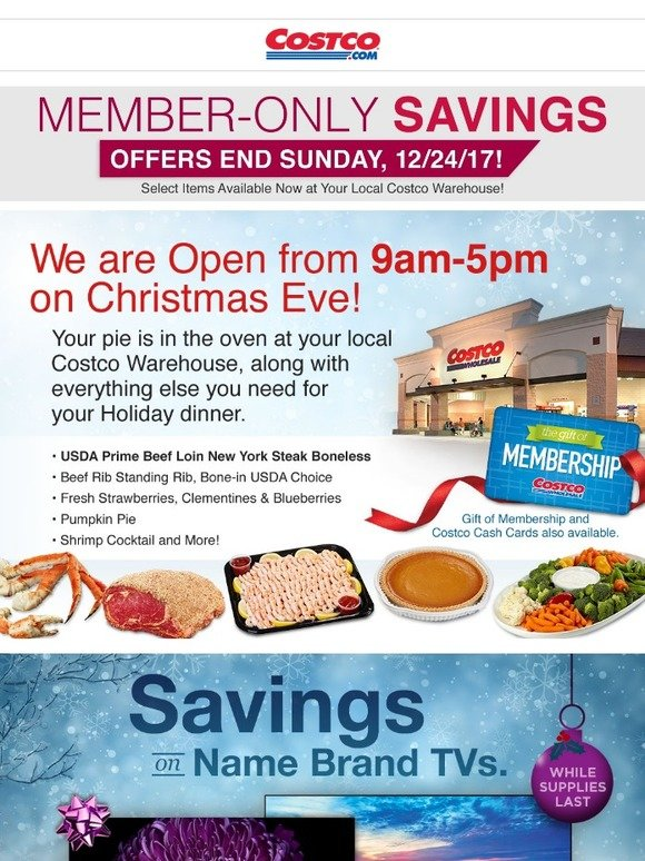 Costo: Offers Ending Sunday 12/24! Plus Shop Your Local Costco for
