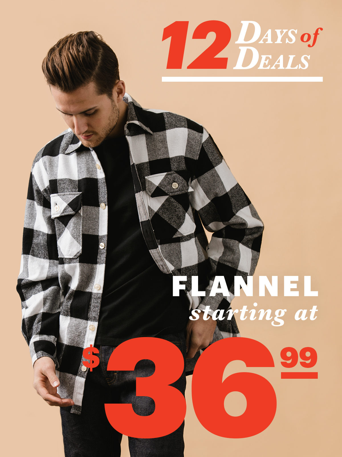 12 Days Of Deals: Day 10 Flannel Starting At $36.99