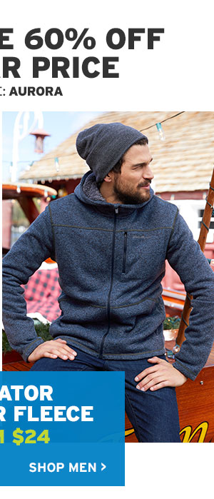 60% OFF FLEECE | SHOP MEN'S FLEECE