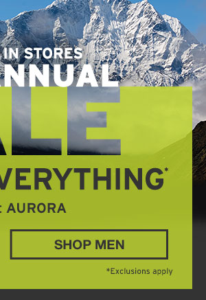 50% OFF EVERYTHING | SHOP MEN