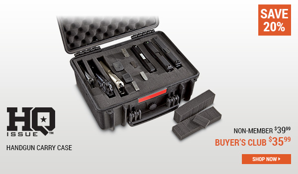 HQ ISSUE Handgun Carry Case