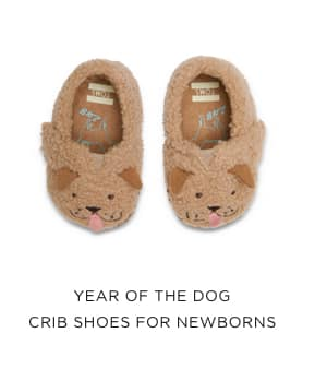 Year of the Dog Crib Shoes for Newborns