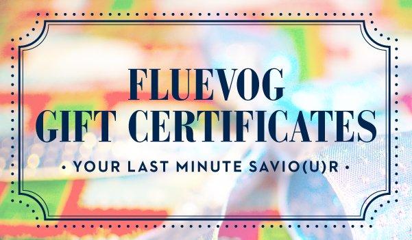 Fluevog Gift Certificates | Your last minute savio(u)r