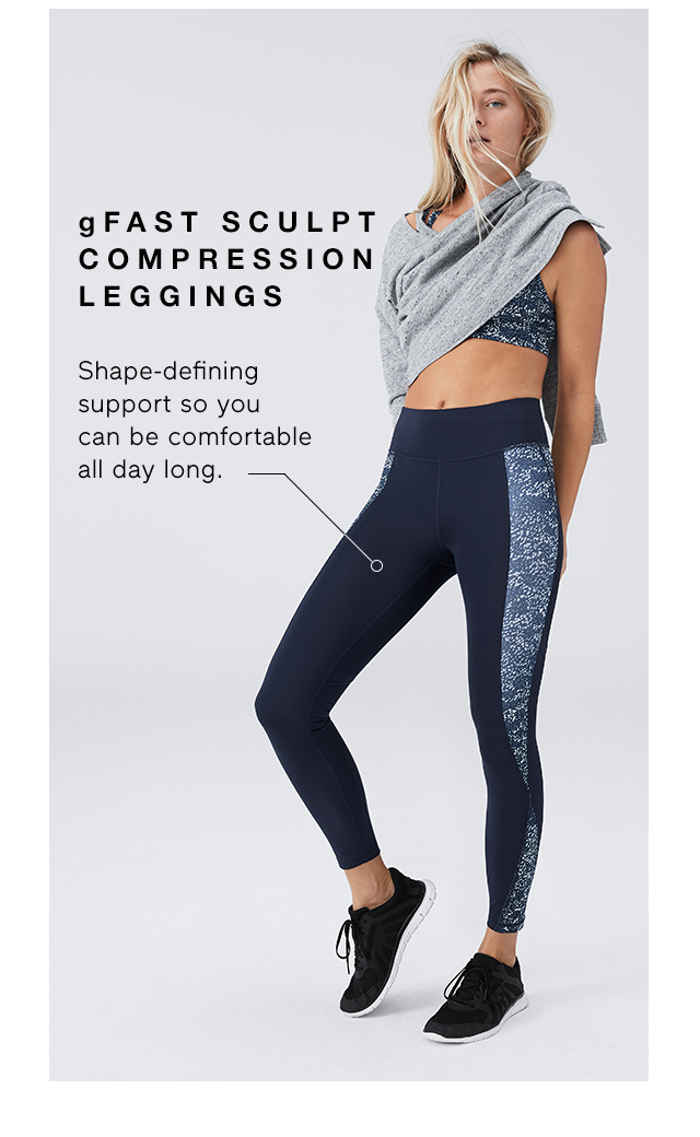 gFAST SCULPT COMPRESSION LEGGINGS