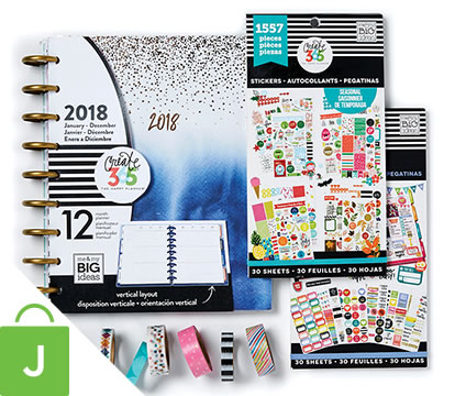 Happy Planner, Stickers and Journals.