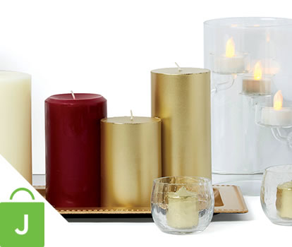Hudson 43 inch Candle and Light Collection.