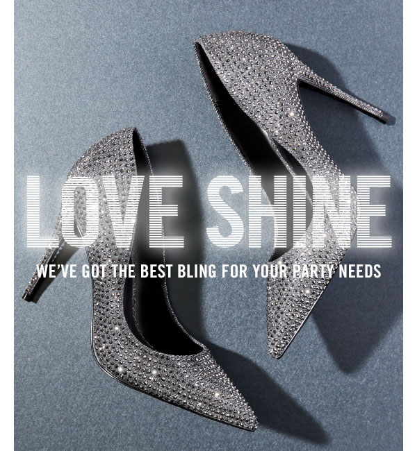 Love Shine: we've got the best bling for your party needs