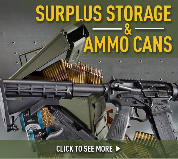 Surplus Storage & Ammo Cans