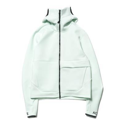 a612ec1cd455 NikeLab ACG Fleece FZ Hoodie Barely Green Orange