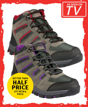 Hi Gear Kinder WP Men's / Women's Walking Boots