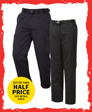 Hi Gear Mens and Womens Insulated Alaska Trousers