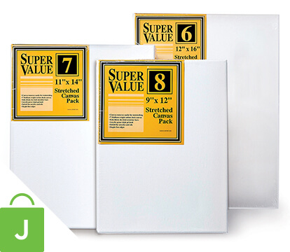 Super Value Canvas Pack.