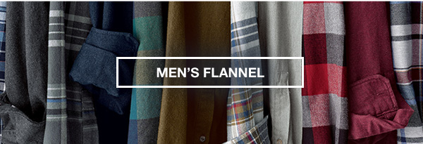 FLANNEL SHIRTS FROM $30 | SHOP MEN'S FLANNEL SHIRTS