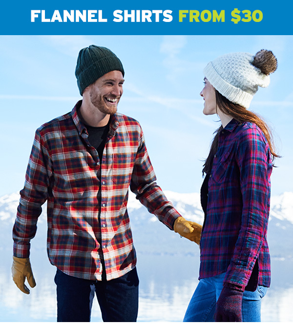 FLANNEL SHIRTS FROM $30 | SHOP FLANNEL SHIRTS