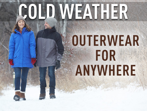 Cold Weather Outerwear For Anywhere