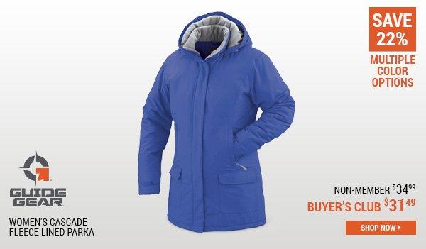 Guide Gear Women's Cascade Fleece Lined Parka