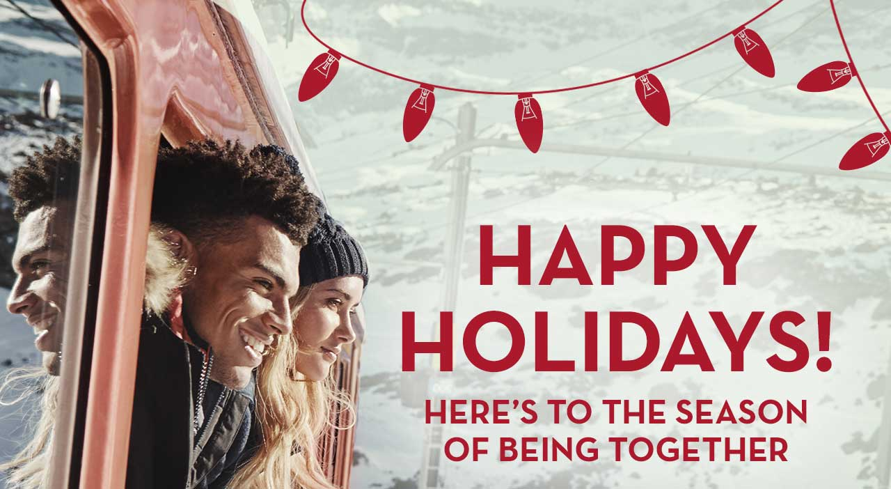Happy Holidays! Here's To The Season Of Being Together